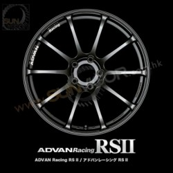 Advan Racing RSII 5x114.3 Wheels by YOKOHAMA