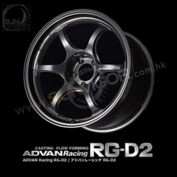 Advan Racing RG D2 5x114.3 Wheels by YOKOHAMA