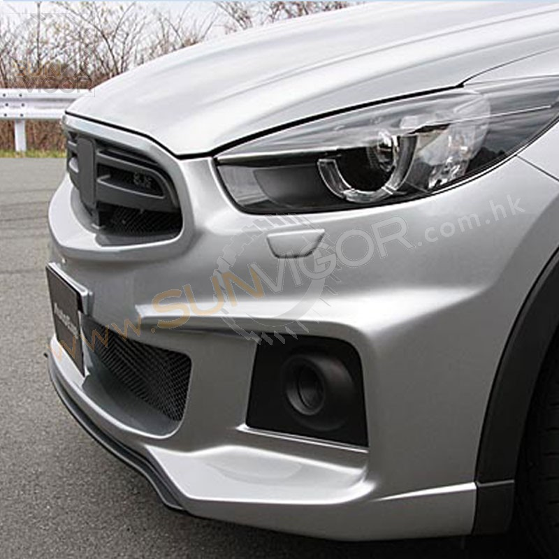 sun vigor online 2015 cx 5 front bumper with grill aero kit mke2f00. Black Bedroom Furniture Sets. Home Design Ideas