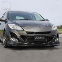 08-11 Mazda3 [BL] AutoExe Front Bumper with Grill Cover Aero Kit MBL2000