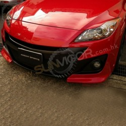 11-13 Mazda3 [BL] KnightSports Front Bumper with Grill Aero Kit [Type-2] KZG71303