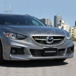 13-15 Mazda6 [GJ] AutoExe Front Bumper with Grill include LED Daytime Running Light MGJ2E00_A002050