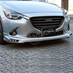 2015+ Mazda2 [DJ] AutoExe Front Bumper Spoiler Aero Kit include LED Daytime Running Light MDJ2100_A002070