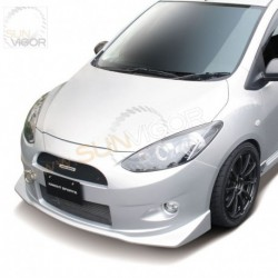 07-14 Mazda2 [DE] KnightSports Front Bumper with Grill Aero Kit [Type-1] KZG71101