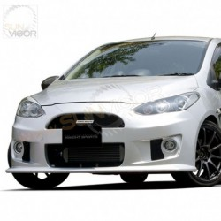 07-14 Mazda2 [DE] KnightSports Front Bumper with Grill Aero Kit [Type-2] KZG71201