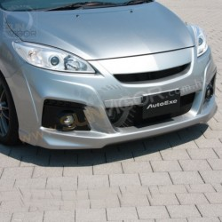 2010+ Mazda5 [CW] AutoExe Front Bumper with Grill Cover Aero Kit include LED Daytime Running Light MCW2E00_A002060