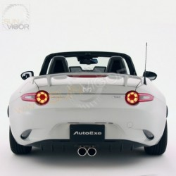 2016+ Miata [ND] AutoExe Center-exit Dual Tip Exhaust Muffler with Rear Bumper Diffuser pack MND2400 MND8Y50