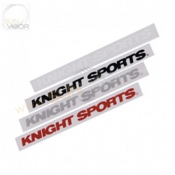 KnightSports Logo Sticker [Red, Black, Silver, White]