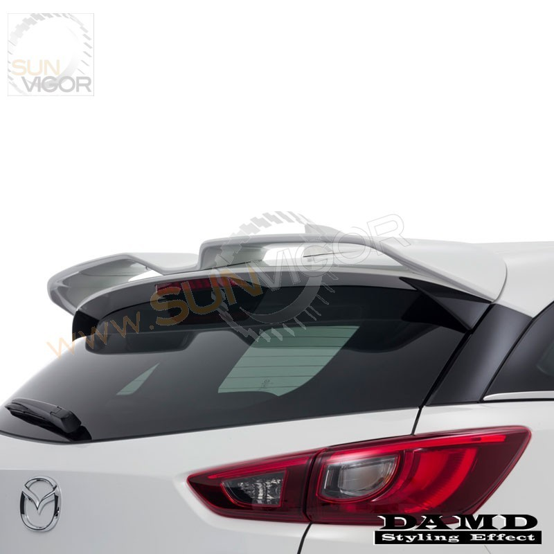 2015+ CX-3 Damd Rear Roof W-Wing Spoiler