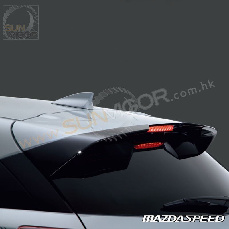 2015+ CX-3 [DK] MazdaSpeed Rear Roof W-wing Spoiler