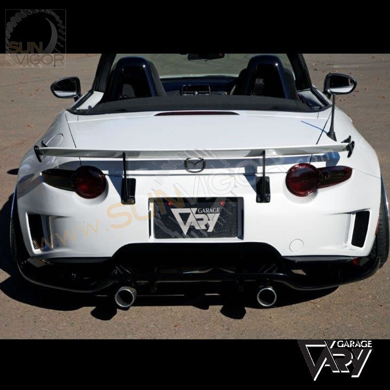 2016+ Miata [ND] Garage Vary Rear Trunk GT Wing Spoiler Type1 GVND4622 | Sun Vigor Online