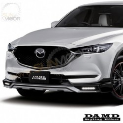 2017+ CX-5 [KF] Damd Front Bumper Lower Spoiler include LED Daytime Running Light Kit