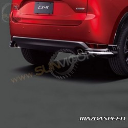 2017+ CX-5 [KF] MazdaSpeed Rear Bumper Diffuser Spoiler Package