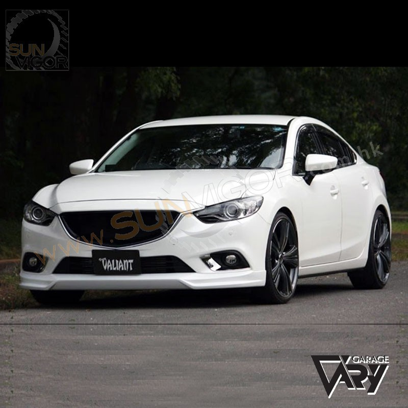 13 15 mazda6 gj valiant front bumper spoiler sun vigor. Black Bedroom Furniture Sets. Home Design Ideas