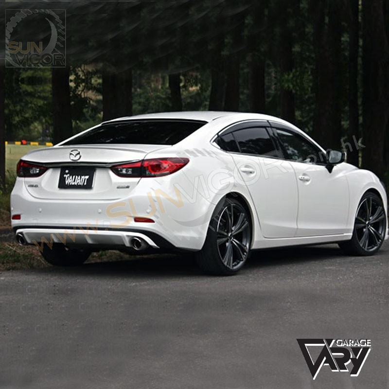 2013 mazda6 gj sedan valiant rear bumper diffuser. Black Bedroom Furniture Sets. Home Design Ideas