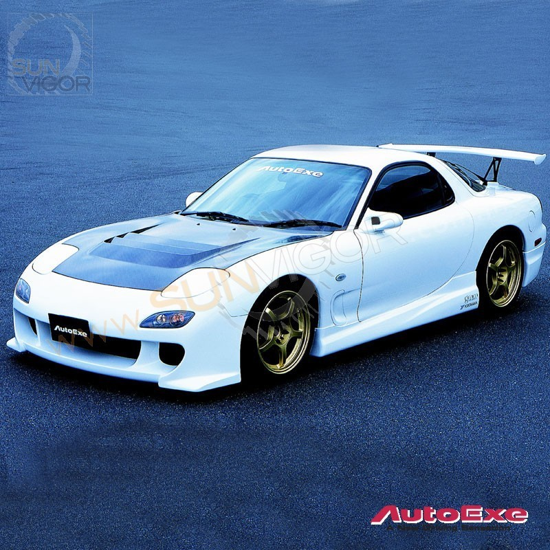 1993 Mazda Rx 7 Camshaft: 93-02 RX-7 [FD3S] AutoExe Side Skirt Extension Splitters