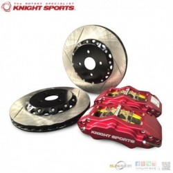 2015+ Mazda2 [DJ] KnightSports 4-POT Big Brake Kit [Front] KZD69005