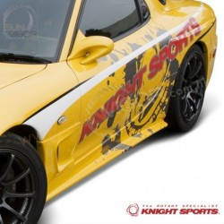 93-95 RX-7 [FD3S] KnightSports Side Skirt Extension Splitters [Type-4] KDE73401