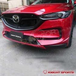 2017+ CX-5 [KF] KnightSports Front Bumper with Grill Cover Aero Kit