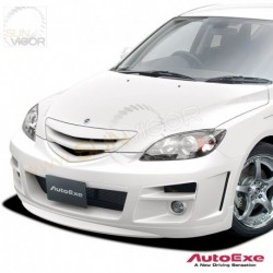 03-06 Mazda3 [BK] AutoExe Front Bumper with Grill Aero Kit MBK2000