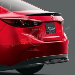 2017+ Mazda3 [BM] Sedan MazdaSpeed Rear Bumper Lip Spoiler QBMN50360A51