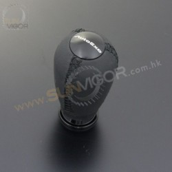 AutoExe Leather Shift Knob with black stitching A139X-08
