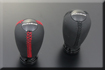 �饻AUTOEXE MAZDA(�U�Ʊo�B���۹F�B�@�T���۹F) Mazda3 (��3�B���۹F3�BM3�BAXELA�BBK)��˳��� Leather Shift Knob (Red stitch)�u�֪i���Y(�ƾ��Y) (���u) A1396-03 A1397-03