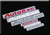 AUTOEXE JAPAN MAZDA2 | M2 | DEMIO  (DJ,DJ5FS,DJ5AS,DJ3FS,DJ3AS, iSTOP, SkyActiv, SkyActiv-Diesel ) modification car performance tuning motorsports automotive racing automovtive part AutoExe Logo Sticker A11200-02