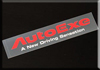 AUTOEXE JAPAN MAZDA2 | M2 | DEMIO  (DJ,DJ5FS,DJ5AS,DJ3FS,DJ3AS, iSTOP, SkyActiv, SkyActiv-Diesel ) modification car performance tuning motorsports automotive racing automovtive part  AutoExe Message Logo Sticker Message Logo A11900-03