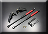 AUTOEXE JAPAN MAZDA BIANTE (CC,CCFFW,CC3FW,CCEAW,SkyActiv,iStop) modification car performance tuning motorsports automotive racing automovtive part Bonnet Hood Strut Damper Kit MCC2960