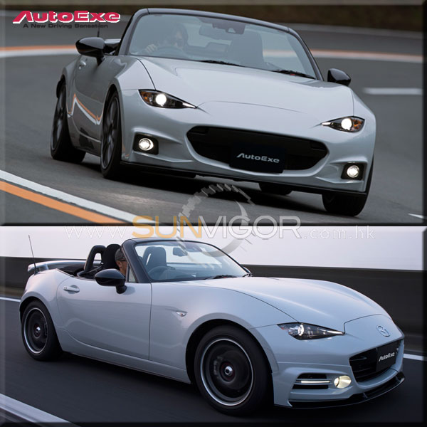 autoexe mazda mx 5 nd miata modification performance. Black Bedroom Furniture Sets. Home Design Ideas