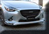 AUTOEXE JAPAN MAZDA2 | M2 | DEMIO  (DJ,DJ5FS,DJ5AS,DJ3FS,DJ3AS, iSTOP, SkyActiv, SkyActiv-Diesel ) modification car performance tuning motorsports automotive racing automovtive part  Front Bumper Lip Splitter  MDJ2100
