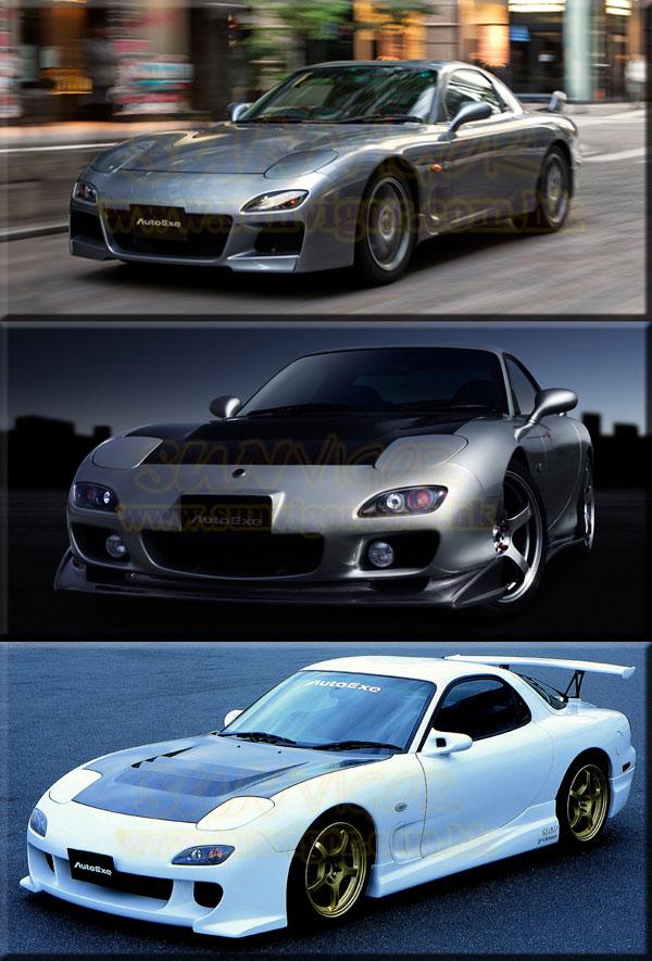 À�autoexe Mazda Rx 7】fd Modification Performance Tuning