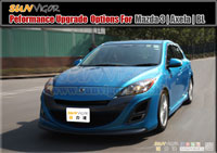 MAZDA3 | M3 | AXELA  (BL,BLFFW,BLEFW,BL5FW,BLEAW,BLFFP,BLEFP,BL5FP,BLEAP,Istop,SkyActiv) modification car performance tuning motorsports automotive racing automovtive part |  brands include : AUTOEXE | KNIGHTSPORTS | RACING BEAT | SPLITFIRE,Body Styling Kits (Aero Body Kits),Bonnet Hood,Air Flow Intake Hood Vent Bonnet Scoop,Front Nose,Front Bumper and Grill (with LED Daytime Running Light Set),Front Grill,Side Skirt Extension Splitter Set,Rear Bumper Cover,Rear Under Tail Filler Panel,Rear Lip Under Spoiler,Rear Diffuser Spoiler Splitter,Rear Roof Spoiler,Rear Truck Lid,Rear Trunk Spoiler Lip,Rear Truck Tail Wing Spoiler,Carbonfirbre Bonnet Hood,Carbonfibre Front Bumper Lip Splitter,Carbonfibre Interior Panel Set,Carbonfibre Side Skirt Extension Splitter,Head Light Garnish Eye Lid,Carbonfibre Door Pillar Garnish,Carbon Rear Bumper Lip Splitter,Carbonfibre Rear Diffuser Spoiler Splitter,Carbon Rear Truck Tail Wing Spoiler,Side LED Mirror,Carbon Shift Knob,Lowering Spring Kit,Sport Shock Damper Kit,Sport Coilver Suspension Kit,Adjustable Coilver Suspension Kit,Tie Rod End,Anti-Roll Bar(sway bar),Anti-Roll Bar (sway bar) Link,Upper Strut Tower Bar,Interior Floor Cross Bar,Lower Control Arm Bar,Tower Brace Set,Lower Under Member Brace Set,Rear Torsion Bar (Sway Bar),Sport Air Filter,Sport Air Induction Kit,Cold Air Intake System Kit,Carbonfibre Air Intake System (K&N filter),Premium Stainless Steel Exhaust Muffler (Oval Tip),Titanium + Stainless Exhaust Muffler,Premium Stainless Steel Exhaust Muffler Tip,Front Pipe,Exhaust Expansion Chamber Kit,Exhaust Manifold Header,Sport Big Brake Caliper Kit,Autoexe Brake Kit,Sport Brake Pad,Sport Disc Brake Rotor,Brake Line Kit,Brake Master Cylinder Brace,Brake Air Guide,Sports Clutch Wire,Sport Clutch Kits,Sport Flywheel,Limited Slip Diff (LSD),Sport Intercooler,Radiator,Intercooler Turbo Air Intake Silicon Hose Pipe Kit,Engine Mount,Leather Steering Wheel Trim Wrap Cover,Oil Filter,Oil Filter Cap,Bonnet Hood Strut Damper Kit,Sport Steering Wheel Kit,Leather Shift Knob,Leather Shift Knob,Carbonfibre Shift Knob,Short Helical Atenna,Windshield Wiper Blade,Wheel Lug Nuts Kit Set,Interior LED Light Set,Rebuilt Tuning Rotary Engine,LED Side Mirrow Cowl,Meter Hood,Shift Levers Paddler,Spark Plug Wire,Grounding Wire Cable,Earth System Kit
