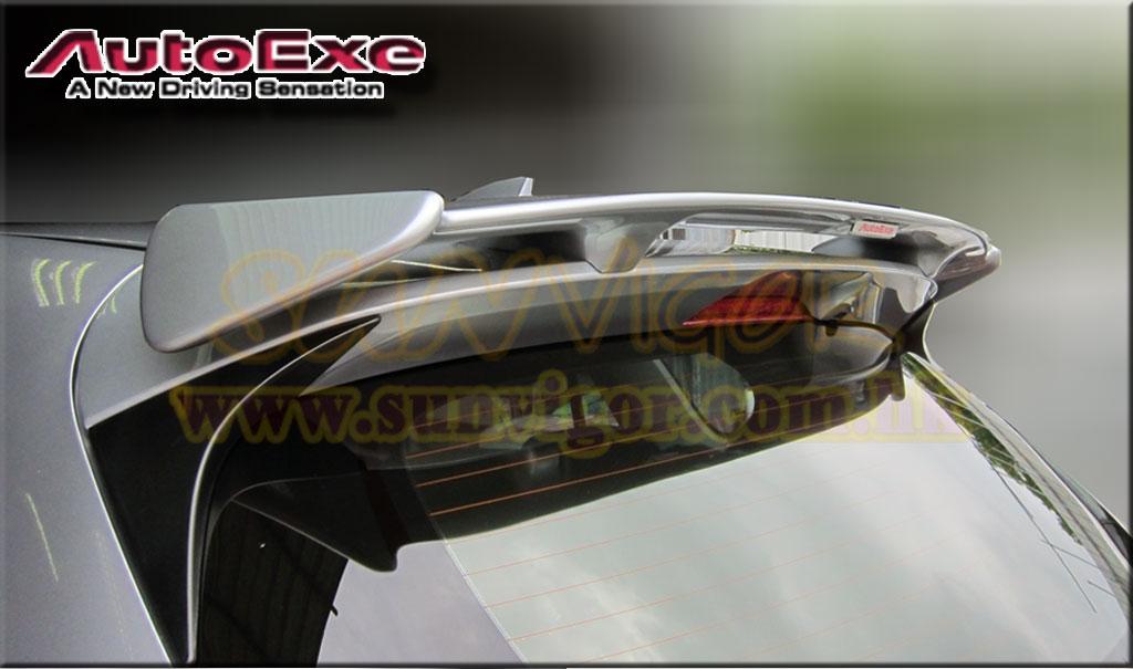 日本AUTOEXE MAZDA(萬事得,馬自達,長安馬自達) Mazda CX-5(CX5,KE,SkyActiv,創馳藍天,SkyActiv-Diesel,KE2FW,KE2AW,KE5FW,KE5AW,KEEFW,KEEAW) 汽車動力升級改裝零件安裝實錄 Rear Roof Spoiler 尾定風翼 MKE2600