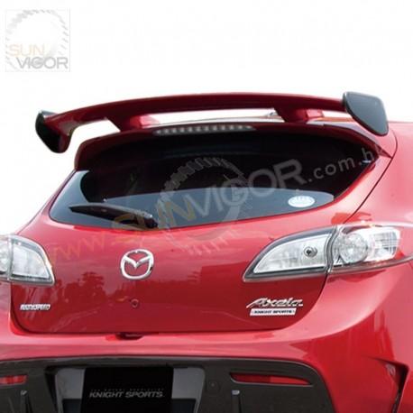 Mazda Speed 3 >> 10 13 Mazdaspeed 3 Bl3fw Knightsports Rear Roof Spoiler