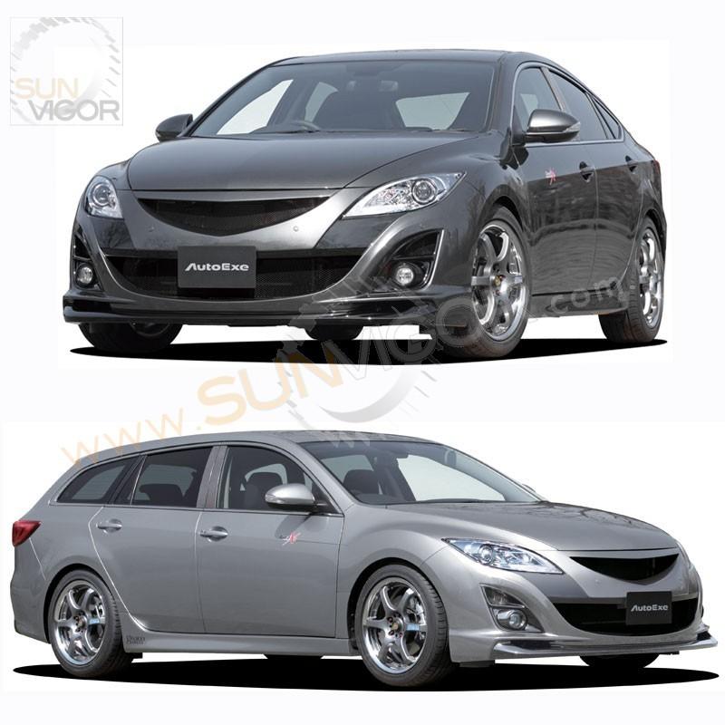 2010 Mazda Mazda6 Interior: 10-12 Mazda6 [GH] AutoExe Front Bumper