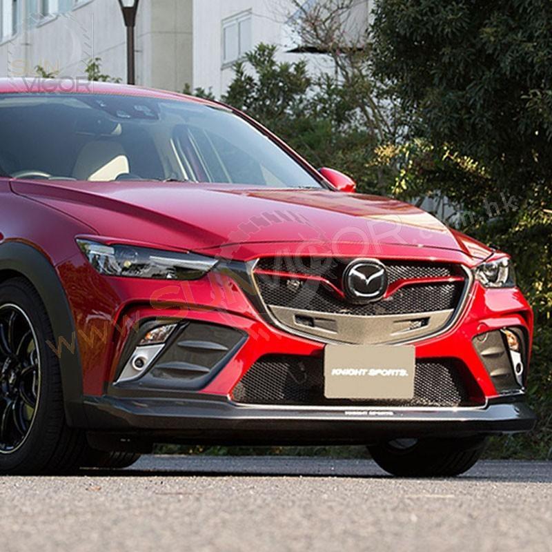 Sun Vigor Online | 2015+ CX-3 KnightSports Front Bumper ...