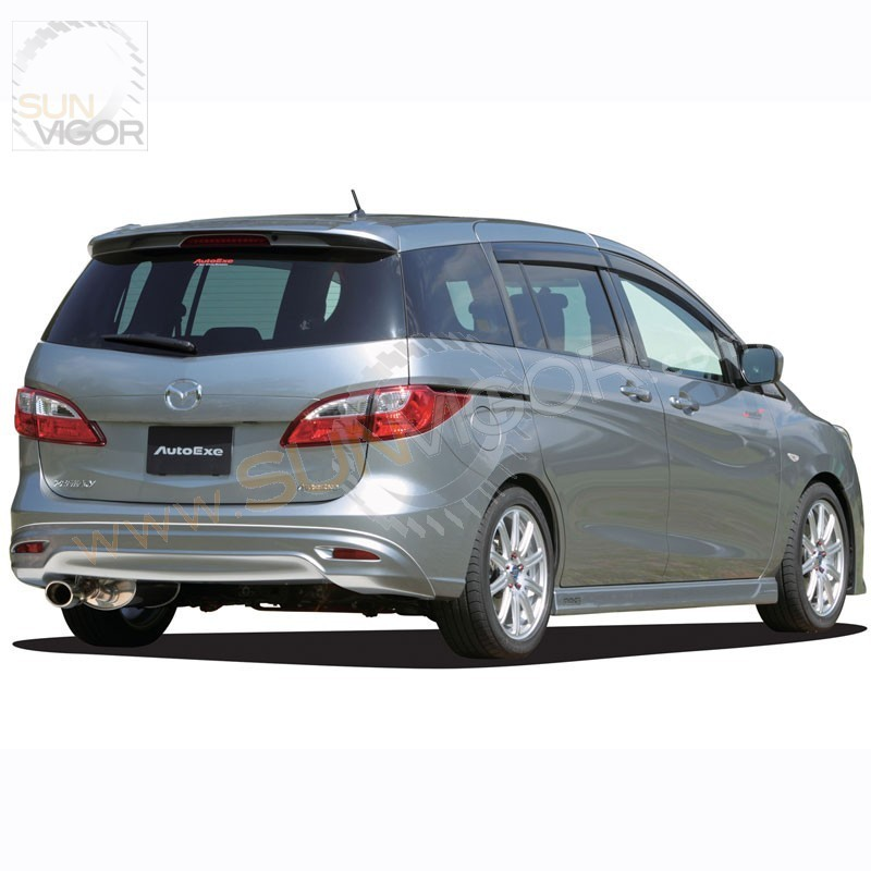 sun vigor online 2010 mazda5 cw autoexe rear bumper. Black Bedroom Furniture Sets. Home Design Ideas