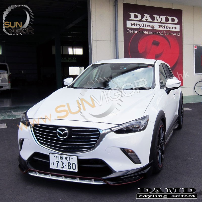 2015 Cx 3 Damd Front Bumper Lower Spoiler Include Led