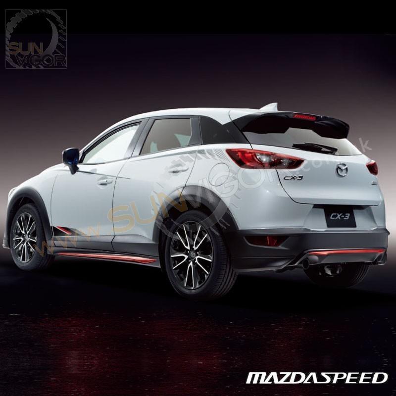 Mazda Speed 3 >> 2015+ CX-3 [DK] MazdaSpeed Rear Bumper Diffuser Spoiler ...