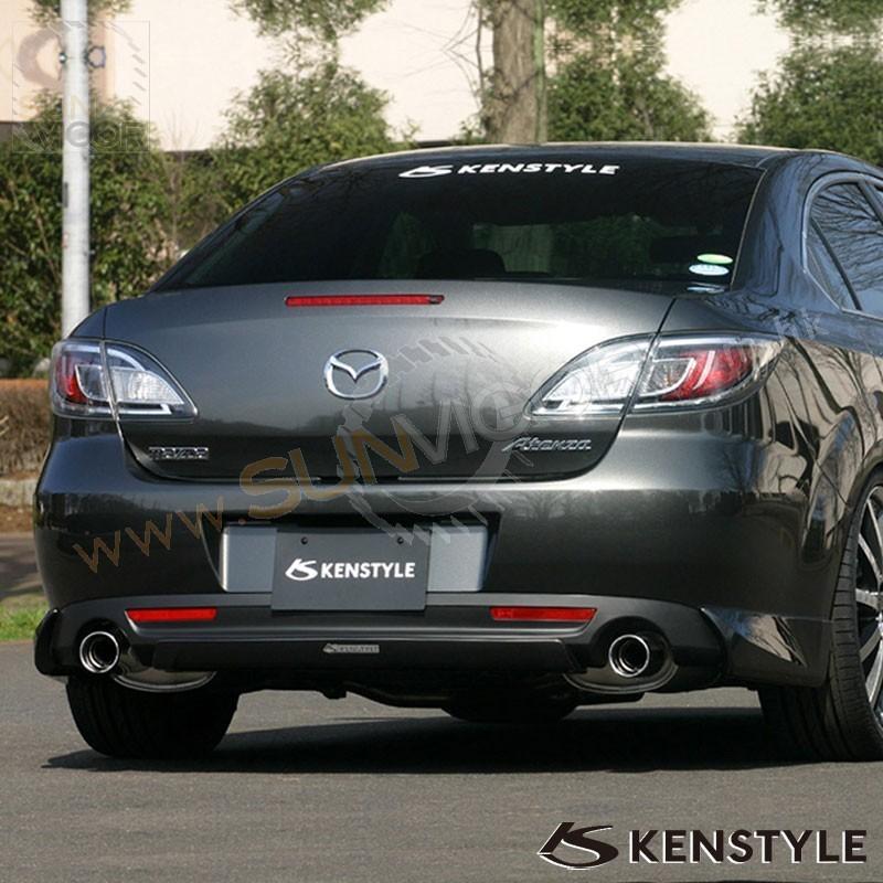 07 12 mazda6 gh sedan kenstyle eik rear bumper diffuser. Black Bedroom Furniture Sets. Home Design Ideas