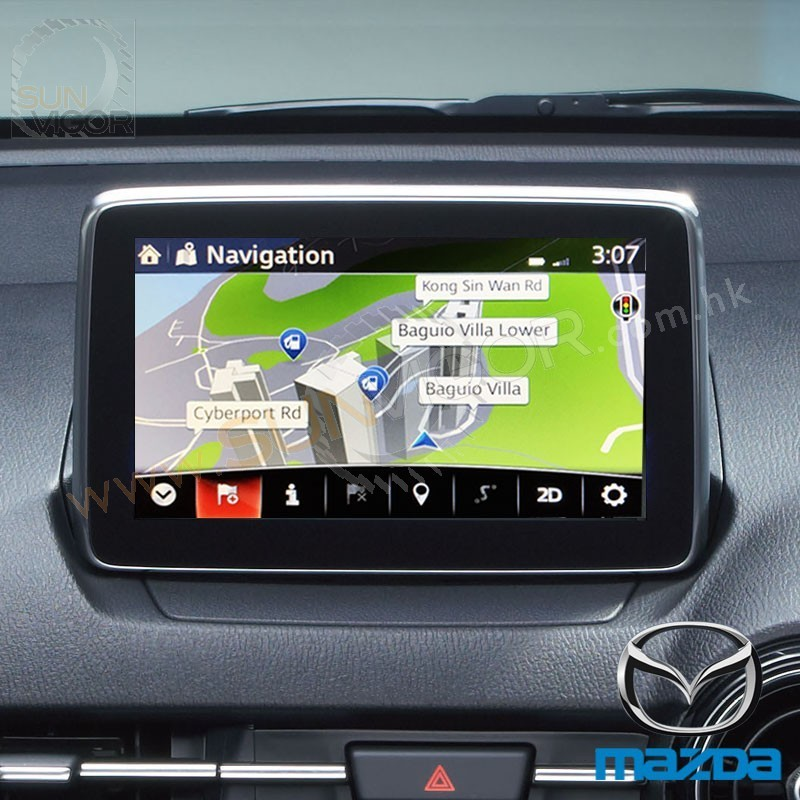 Mazda Navigation Sd Card Support Hong Kong Amp Macau Sun