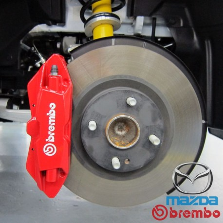Brembo Brake Kit >> 2016 Miata Nd 2 0l Genuine Mazda X Brembo 4 Pot Big Brake Kit Front Sun Vigor Online