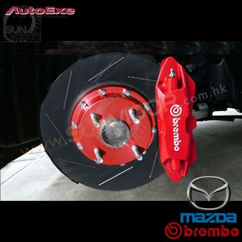 2016+ Miata [ND] 2.0L Genuine Mazda x Brembo 4-POT Big ...