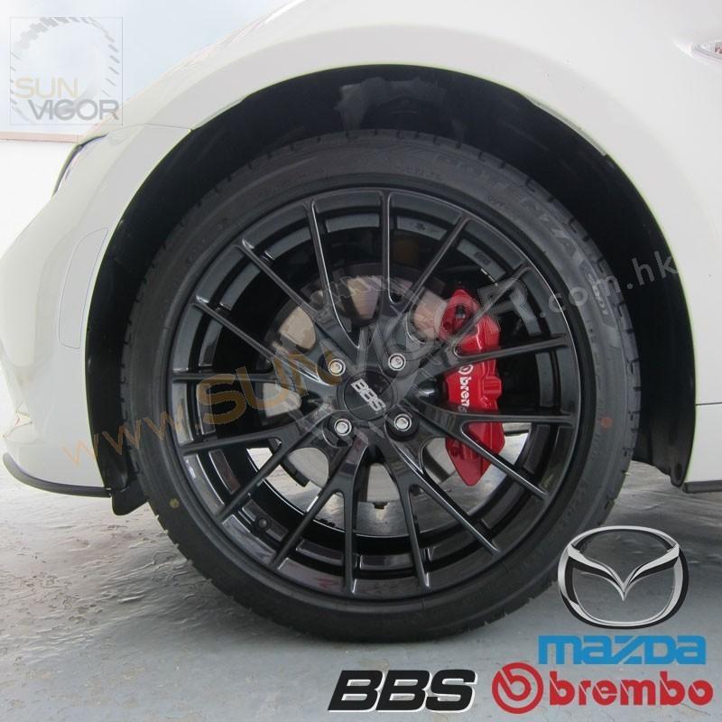 "Mazda Miata Parts >> 2016+ Miata [ND] Genuine Mazda BBS 17"" Forged Wheels | Sun ..."