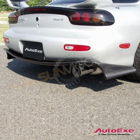 93-02 RX-7 [FD3S] AutoExe Carbon Fibre Rear Diffuser Spoiler Splitter