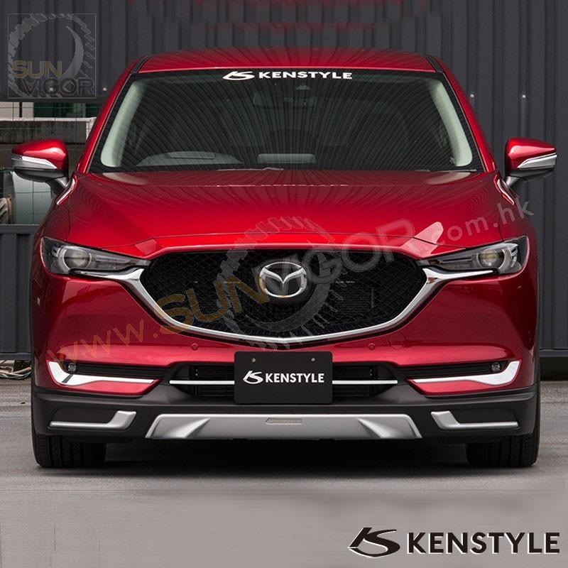 Mazda Cx 5 Accessories >> 2017+ CX-5 [KF] Kenstyle Front Bumper Lip Spoiler   Sun Vigor Online
