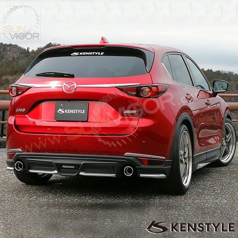 2017 Cx 5 Kf Kenstyle Rear Bumper Diffuser Spoiler