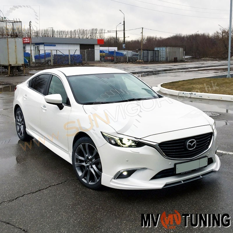 2016 mazda6 gj sedan mv tuning aerobody styling package mvgjaebspk01 sun vigor online. Black Bedroom Furniture Sets. Home Design Ideas